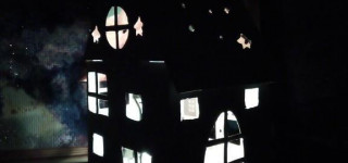 Ночник-домик