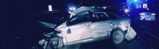 В Липецкой области автобус столкнулся с тремя машинами, погибла женщина