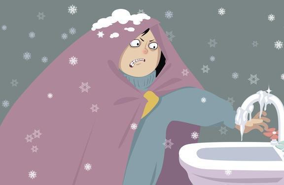 Чтобы водопровод на даче не замёрз, используйте утеплитель