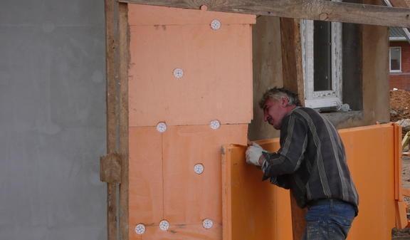 Изоляция наружных стен экструдированным пенополистиролом